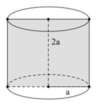 30_Một hình trụ có bán kính đáy.png