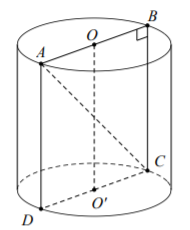 31_Một hình trụ có bán kính đáy.png